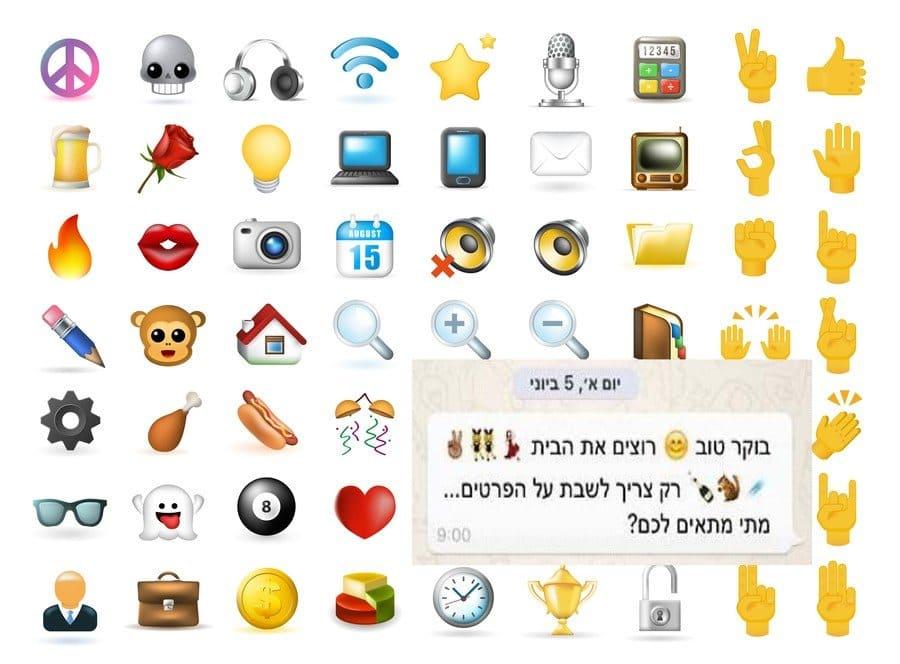 iPhone transparent background emoji