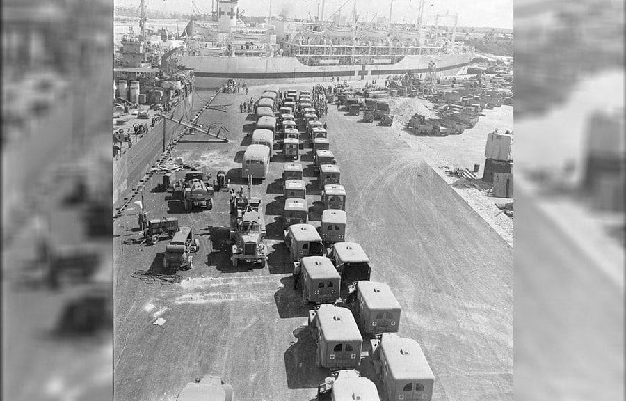 USS Indianapolis Survivors, Aug 1945