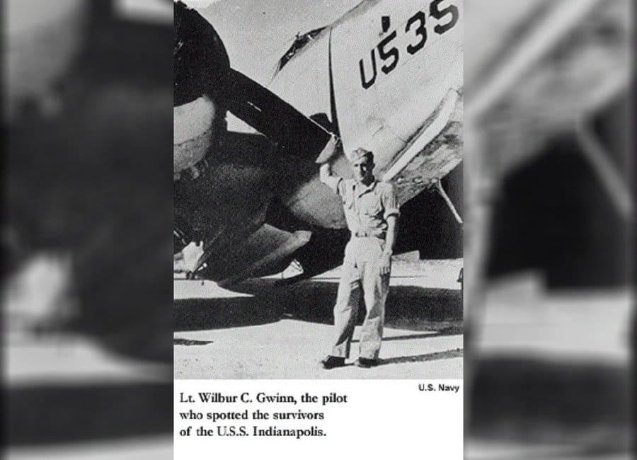 Lt. (j.g.) Wilbur C. Gwinn