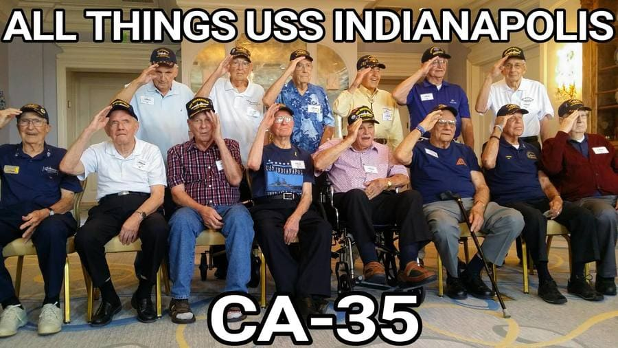 All Things USS Indianapolis CA-35 cover image from Facebook