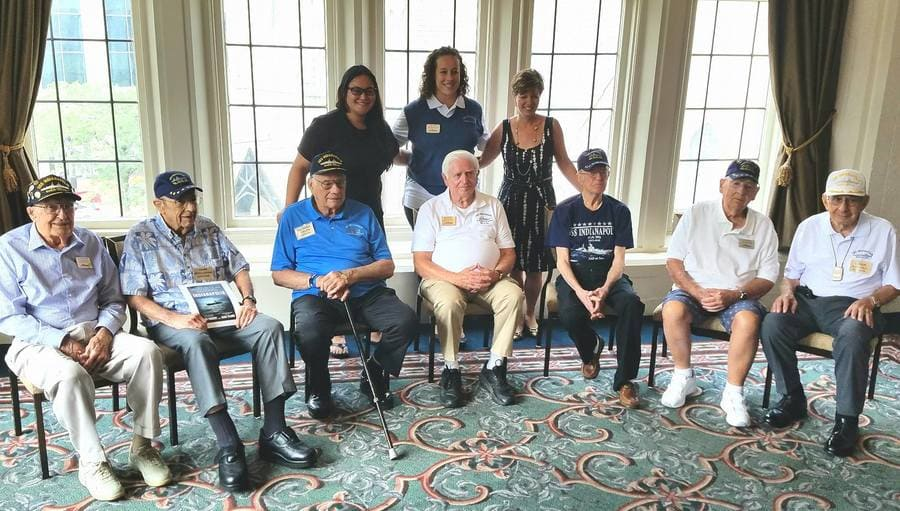 Survivors of the USS Indianapolis