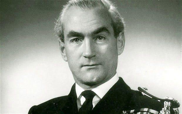 Commander Ian Forbes