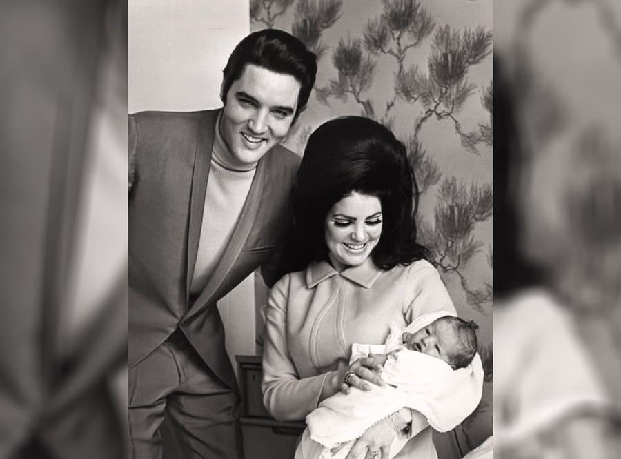 Elvis Presley, Priscilla Presley, Lisa Marie Presley