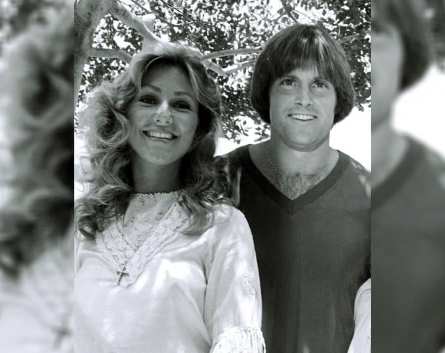 Linda Thompson and Bruce Jenner