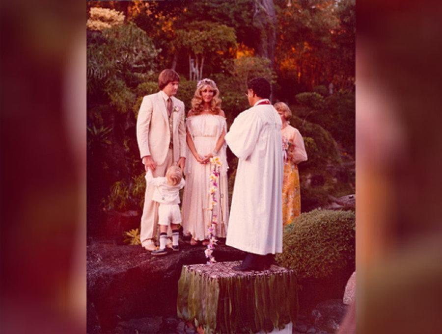 Linda Thompson and Bruce Jenner Wedding