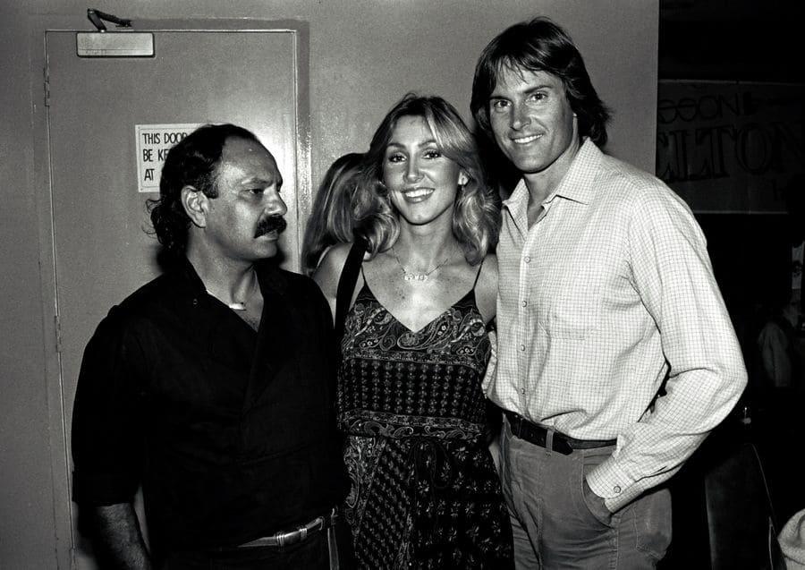 Cheech Marin, Linda Thompson, Bruce Jenner