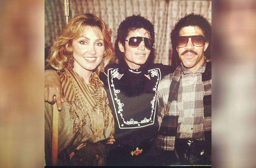Michael Jackson, Lionel Richie, Linda Thompson