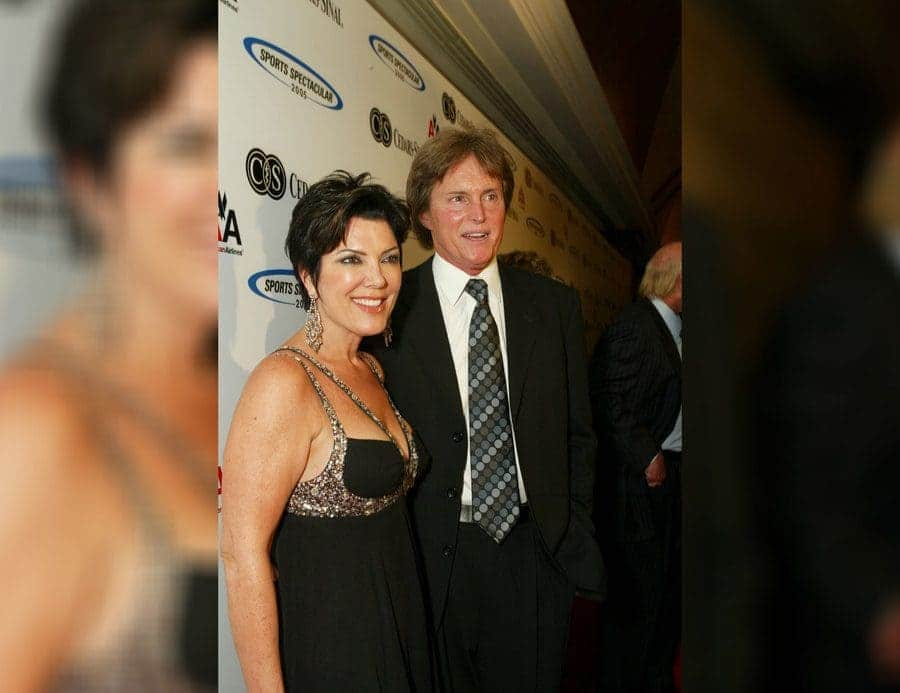 Caitlyn Jenner and his wife, Kris Kardashian
