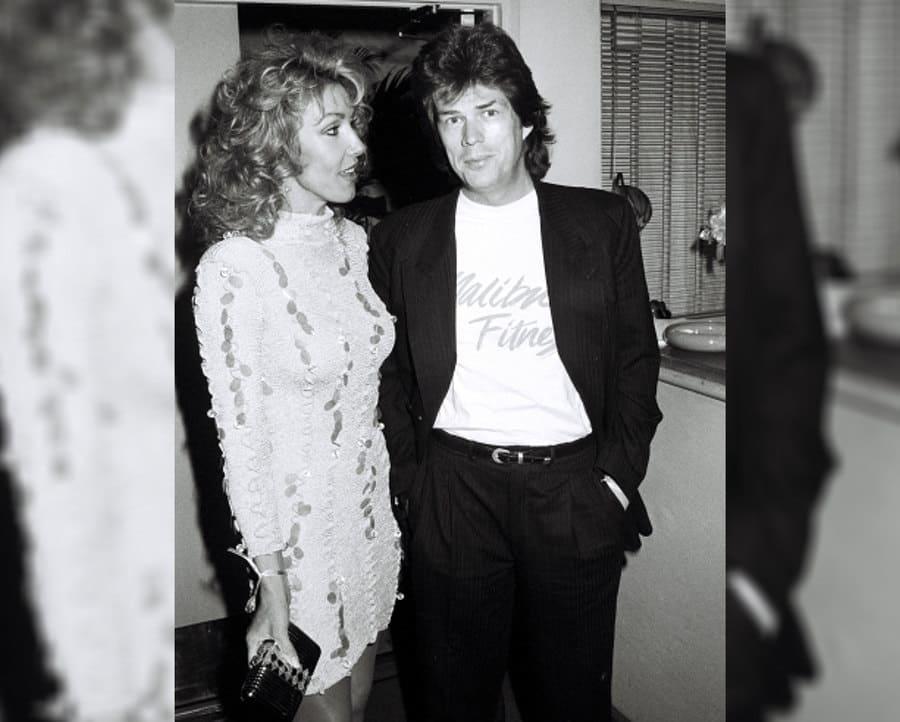 Linda Thompson and David Foster