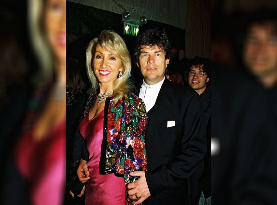 Linda Thompson Foster and David Foster