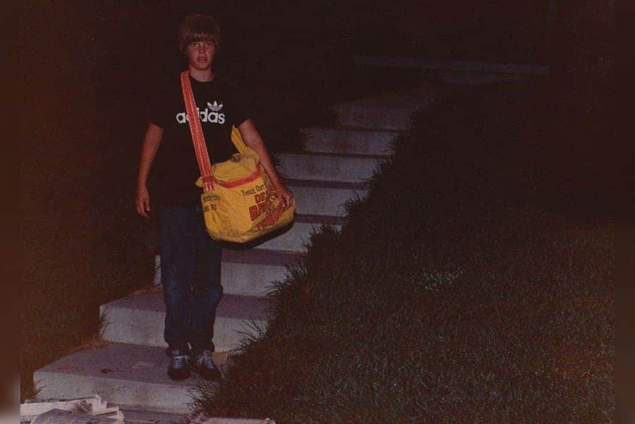 12-year-old Johnny Gosch disappeared from his paper route