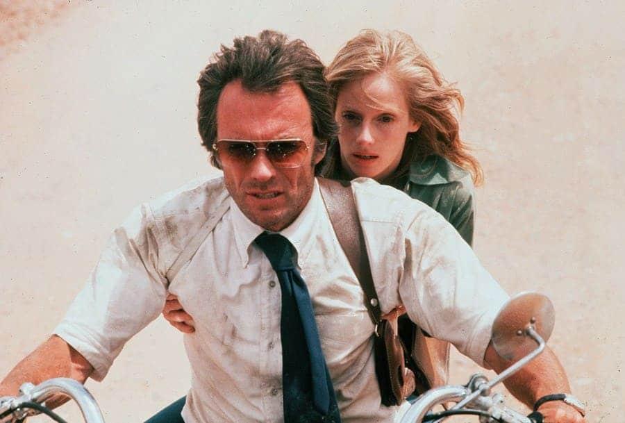 Clint Eastwood, Sondra Locke. The Gauntlet - 1977