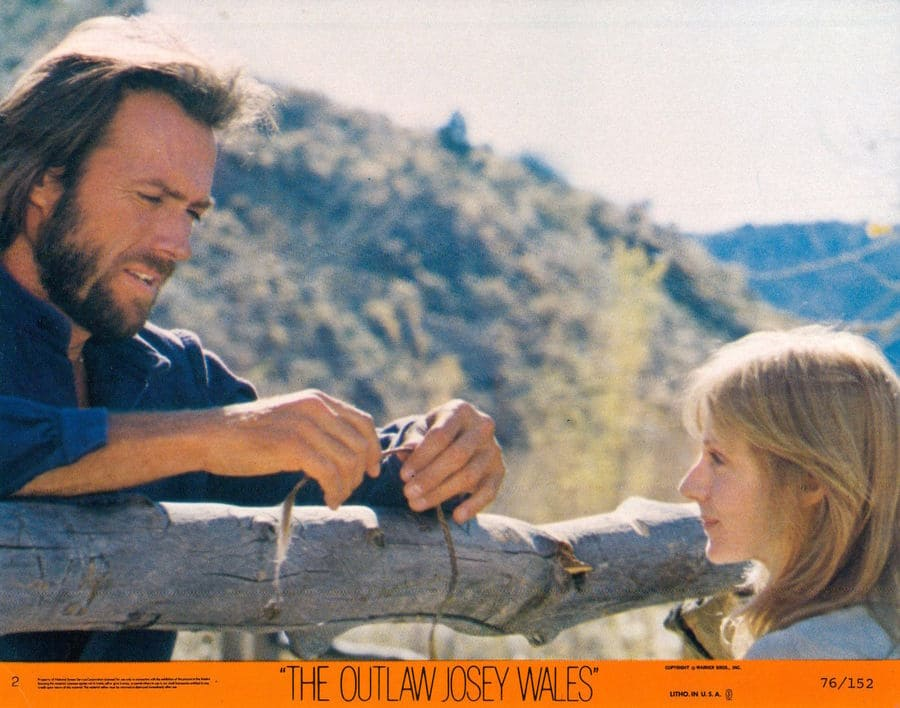 The Outlaw Josey Wales lobby card