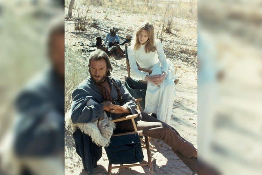 Film Stills of 'Outlaw Josey Wales' With 1975, Clint Eastwood, Sondra Locke in 1975