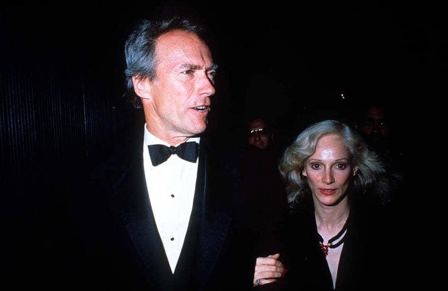 Clint Eastwood with Sondra Locke