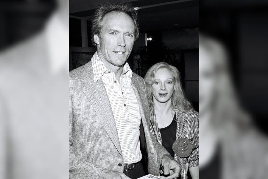 Clint Eastwood and Sondra Locke, 'Red Heat' Screening Party