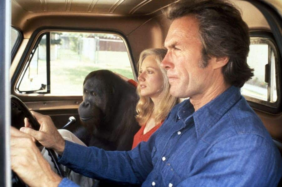 Sondra Locke, Clint Eastwood, Every Which Way But Loose - 1977