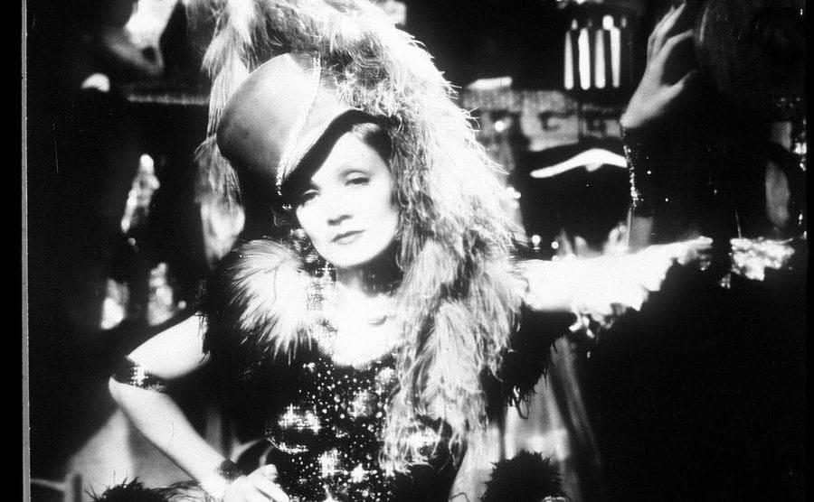 Marlene Dietrich in 'Blue Angel' 1929