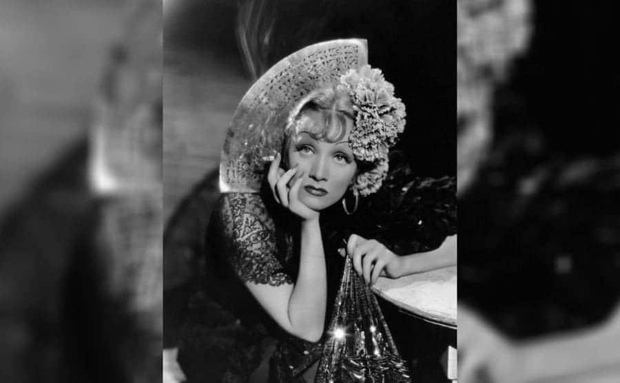 Marlene Dietrich in 'The Devil is a Woman'