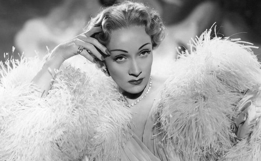 Marlene Dietrich in 1950.