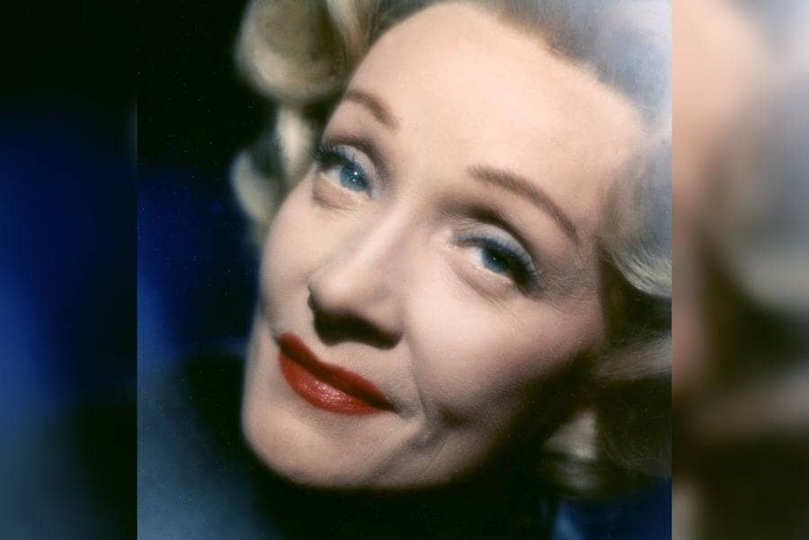 Marlene Dietrich in 1961.