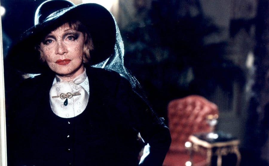 Marlene Dietrich in 'Just a Gigolo' 1978.