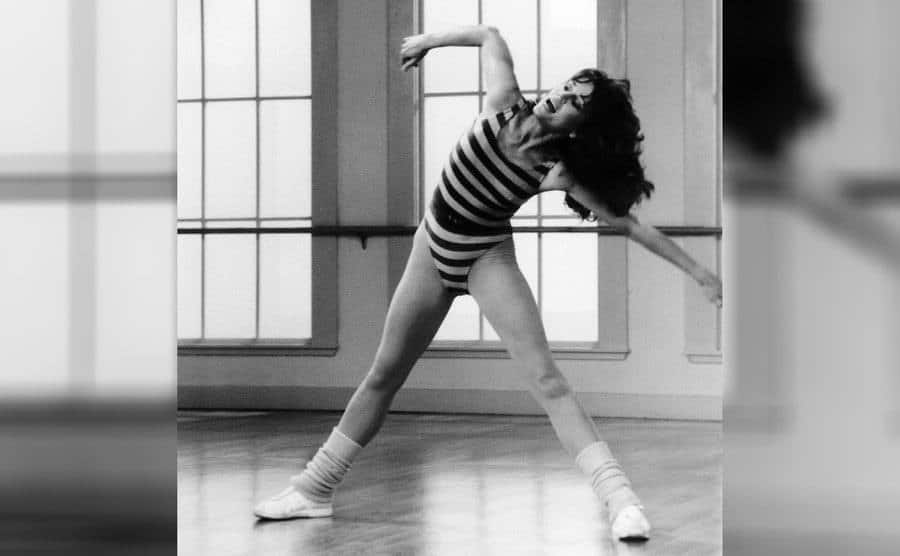 Jane Fonda was working out in 1982.