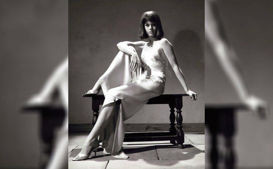 Jane Fonda in 1963.
