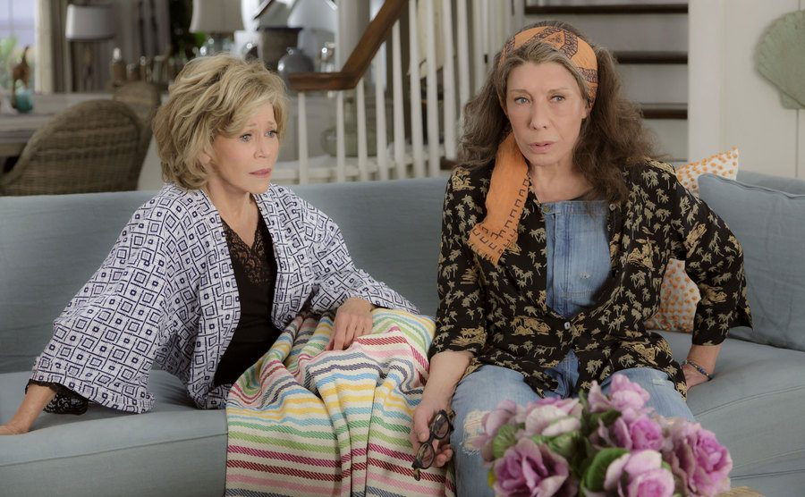 Jane Fonda and Lily Tomlin in 'Grace and Frankie'