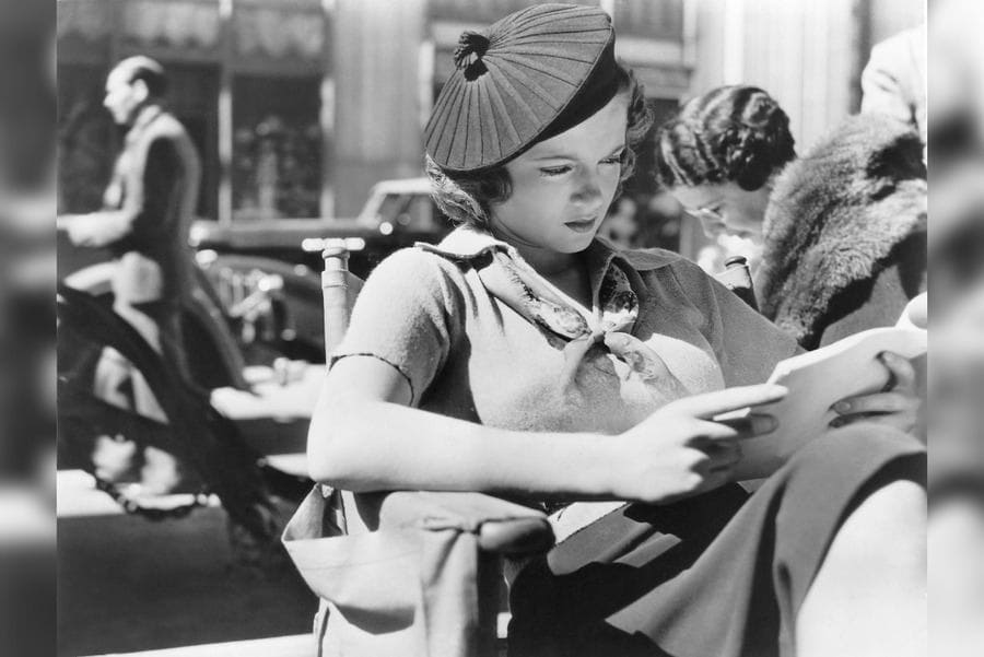 Lana Turner, Reading Script on-set of the Film 'They Won't Forget,' 1937