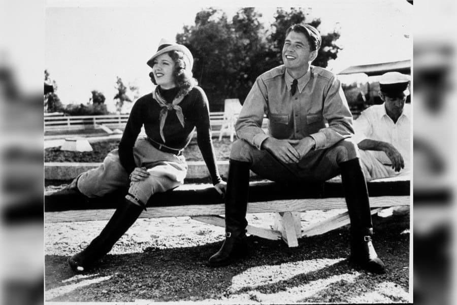Film Stills of 1937, Ronald Reagan, Lana Turner