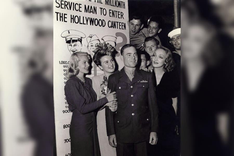 Lana Turner, Deanna Durbin, Marlene Dietrich