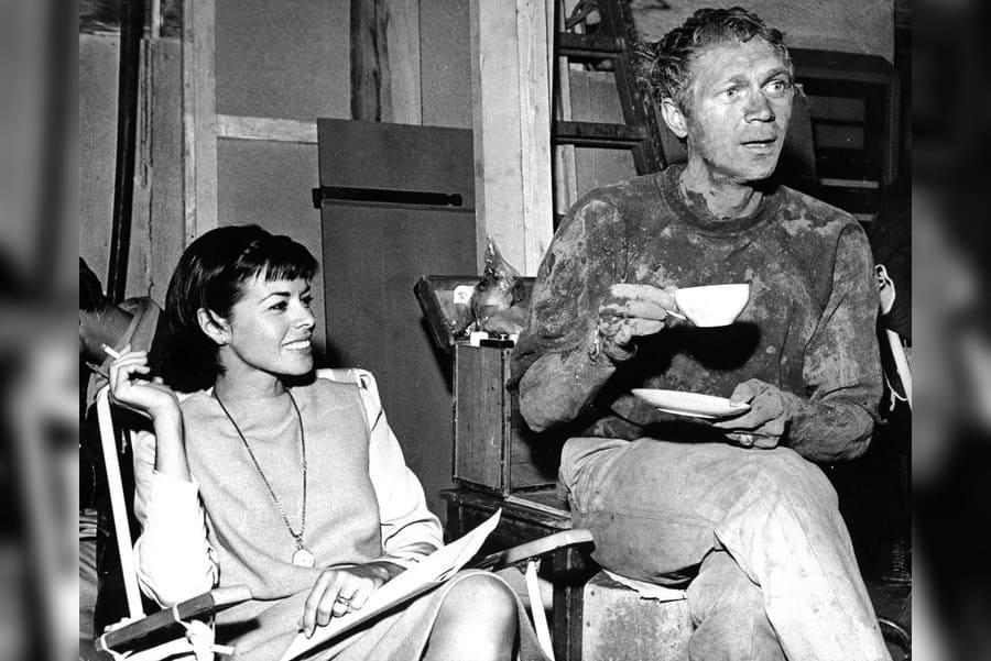 The Great Escape - 1963, Neile Adams, Steve McQueen
