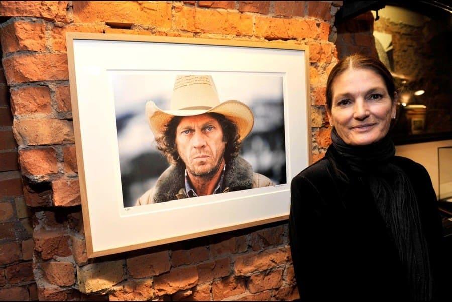 'Steve McQueen - The Last Mile' exhibition, Hamburg, Germany – September 26th, 2012. Barbara McQueen