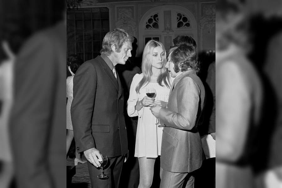 Steve McQueen, Sharon Tate, and Roman Polanski