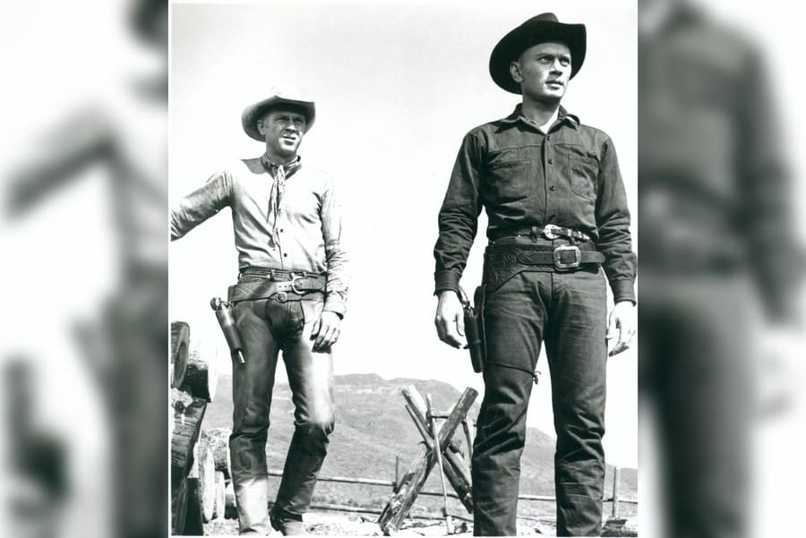 The Magnificent Seven, Steve Mcqueen, Yul Brynner