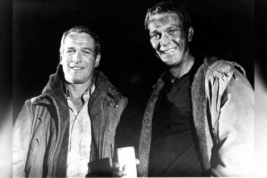 The Towering Inferno - 1974. Paul Newman, Steve McQueen