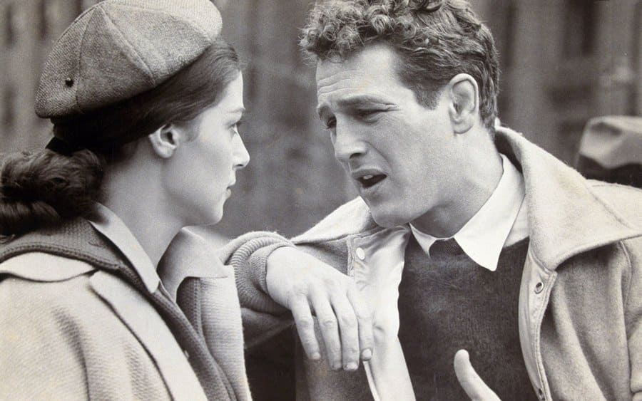 Paul Newman and Pier Angeli in 'Somebody Up There Likes Me.'