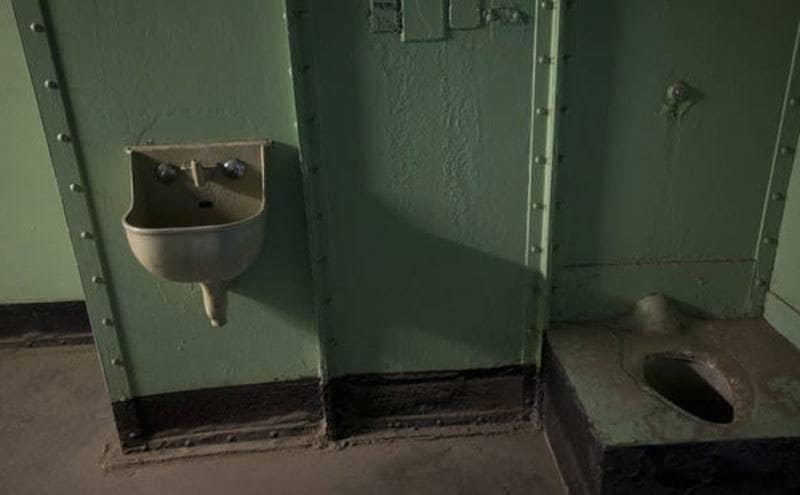 The prison cell where Ernesto Miranda was held in Arizona