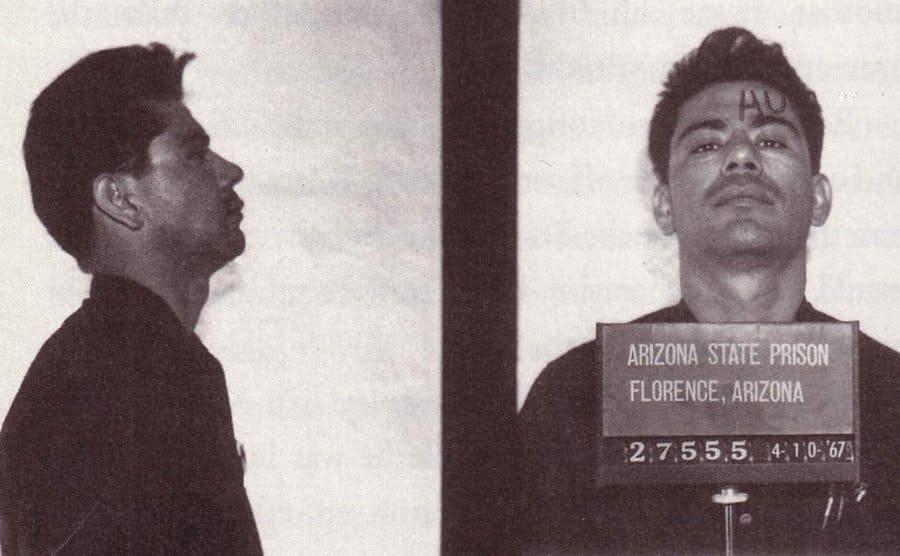 Ernesto Miranda's mugshots