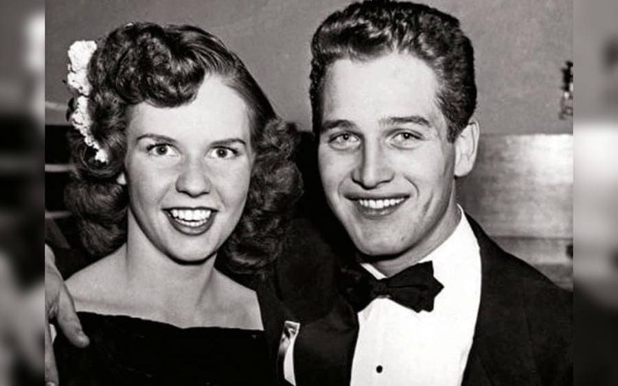 Paul Newman with His Wife, Jackie Witte
