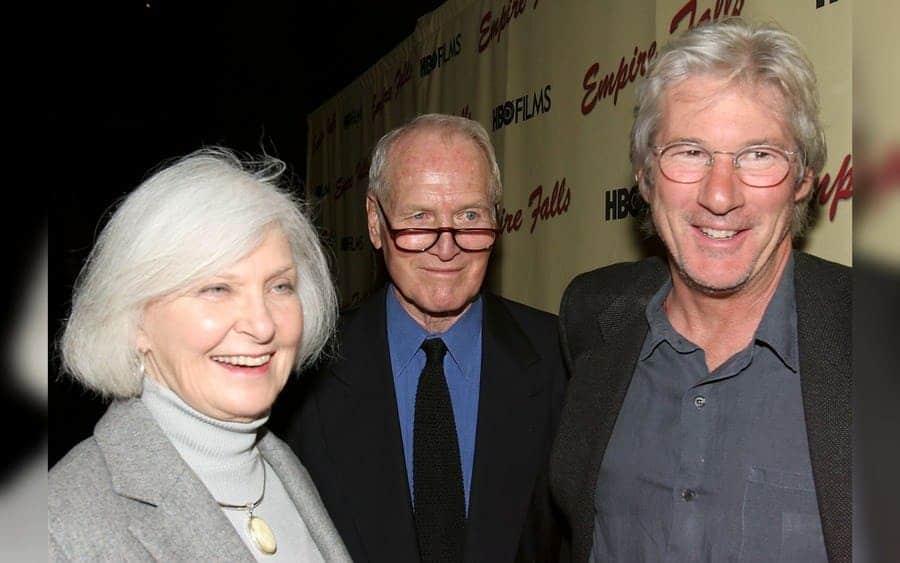 Joanne Woodward, Paul Newman, and Richard Gere