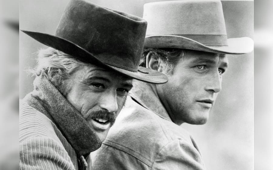 Butch Cassidy and The Sundance Kid – 1969, Robert Redford, Paul Newman