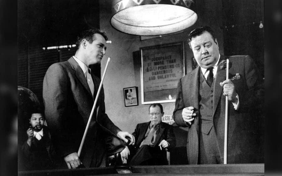 The Hustler – 1961, Paul Newman, Jackie Gleason