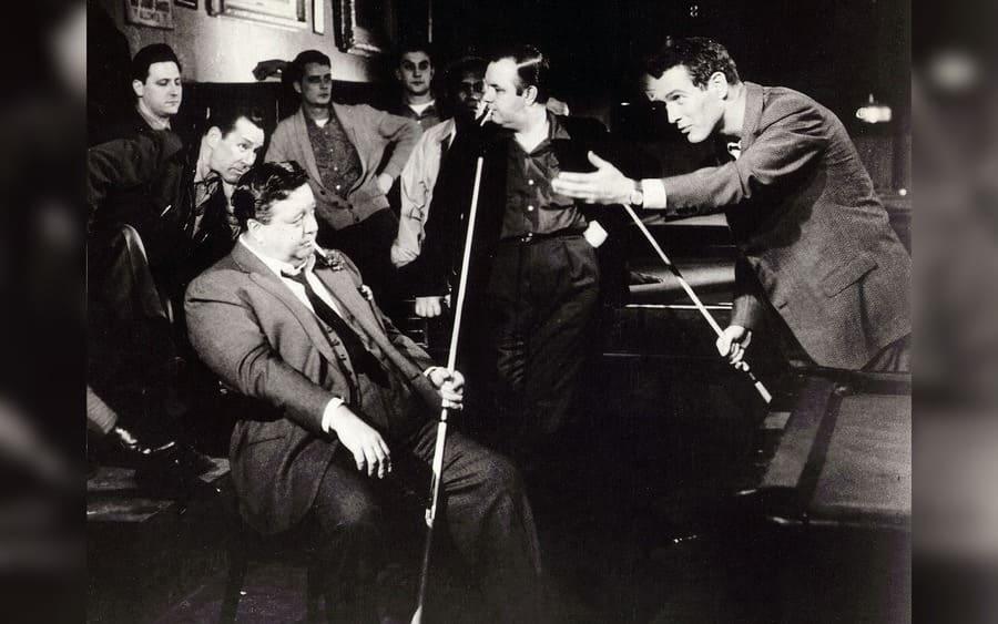 The Hustler – 1961, Jackie Gleason, Paul Newman
