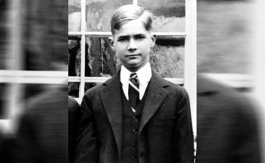 Howard Hughes as a student