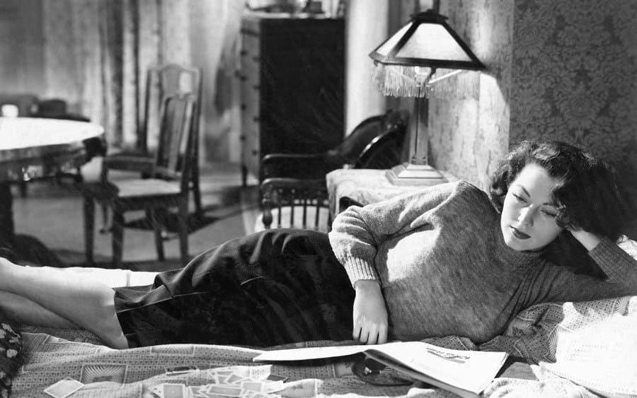 Ava Gardner, on-set of the Film, 'The Killers'