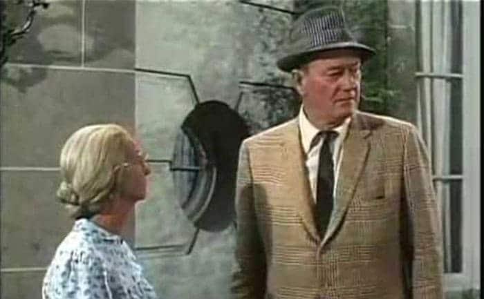 John Wayne with Granny in her dream