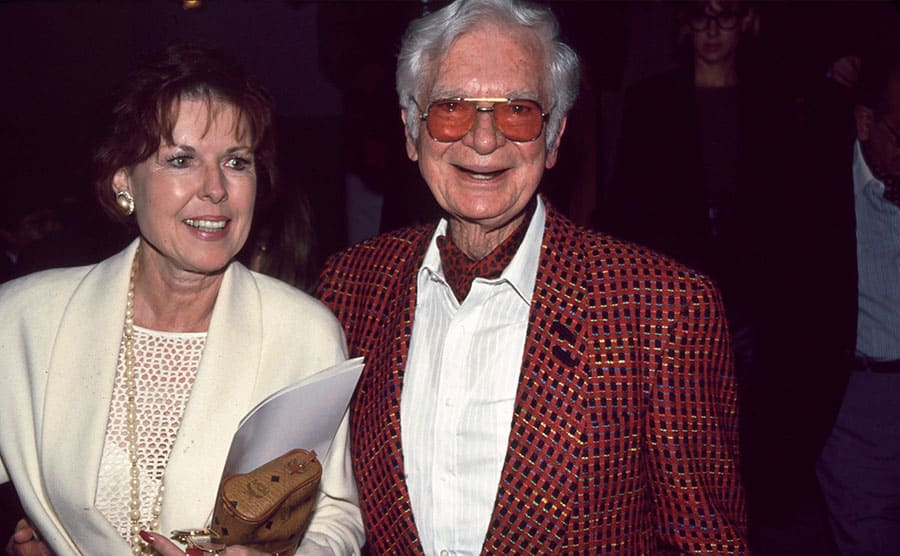 Buddy Ebsen and his wife in 2004