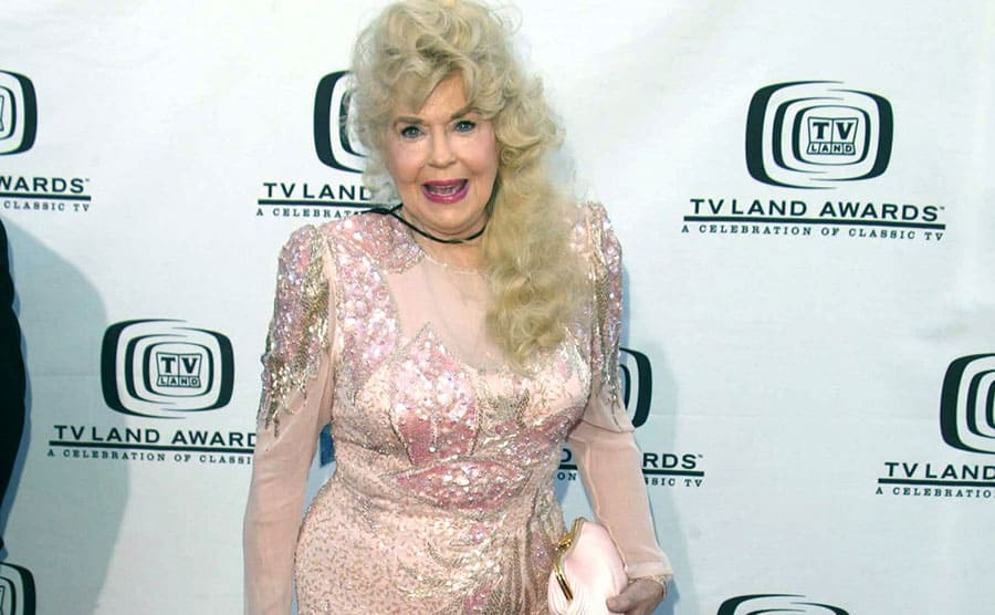 Donna Douglas on the red carpet in 2004